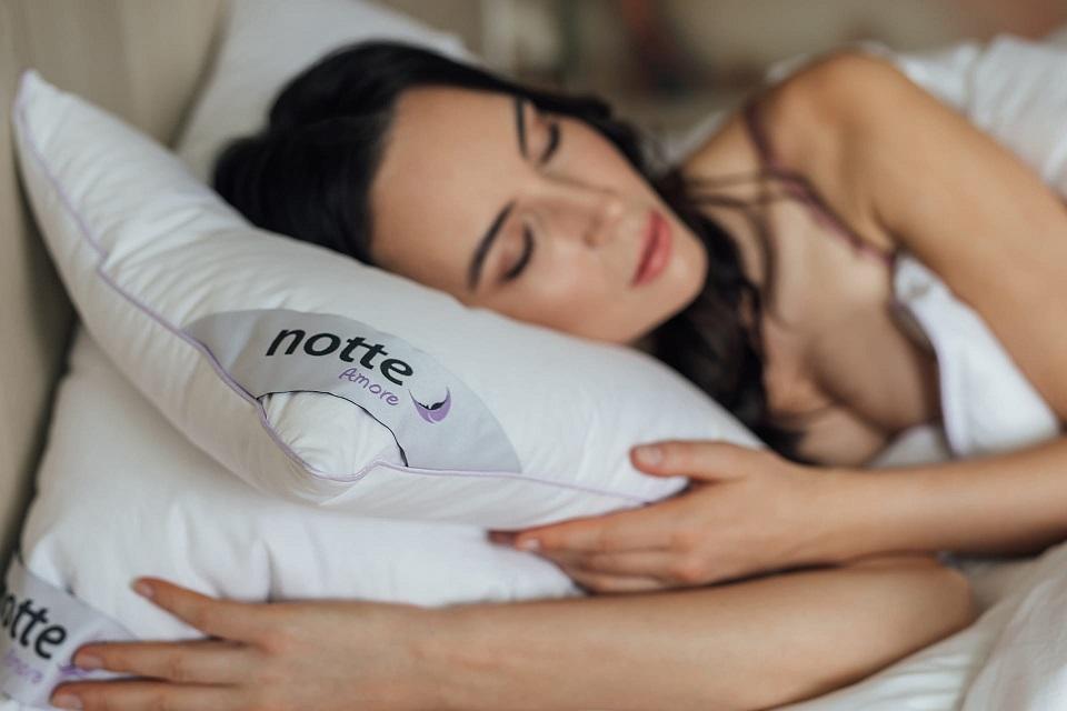 kołdra puchowa zimowa Notte Amore
