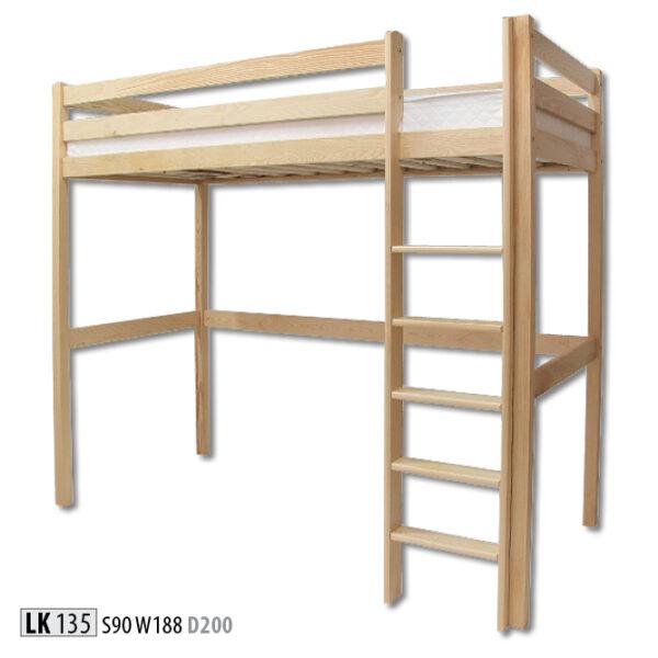 łóżko LK135 Drewmax