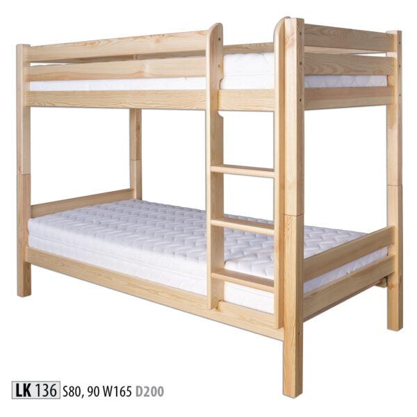 łóżko LK136 Drewmax