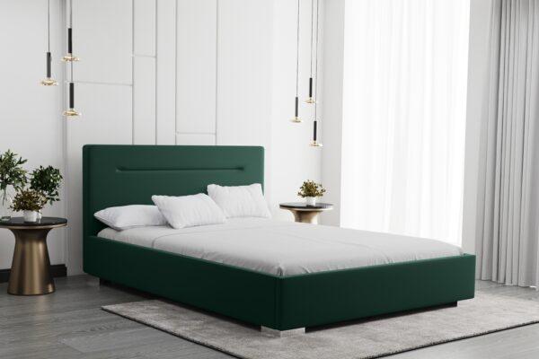 łóżko Bellis tapicerowane z pojemnikiem Matinee